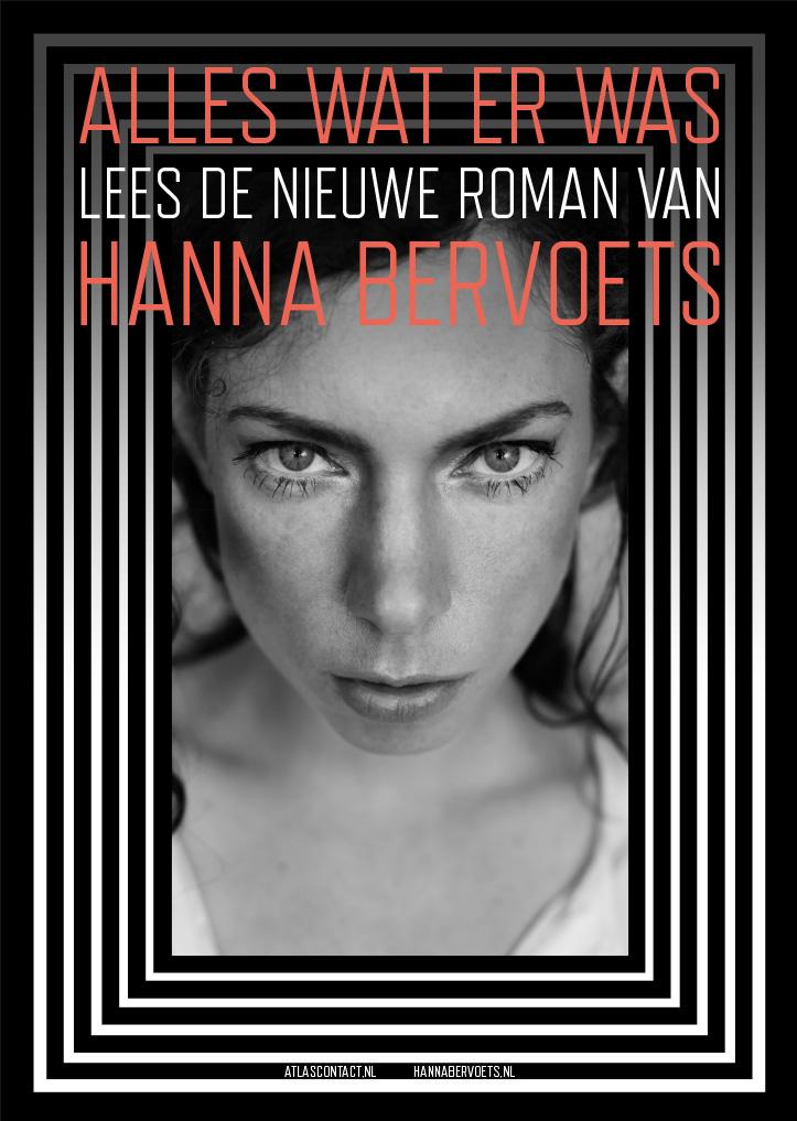Affiche 'Alles wat er was', Hanna Bervoets