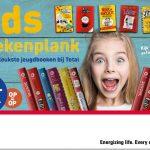Kids boekenplank-actie bij Total sparen voor gratis jeugdboeken van VBK - VBK - nieuws - overzicht