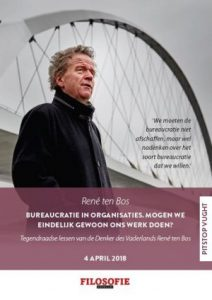Pitstopsessie Vught: seminar over bureaucratie met René ten Bos - VBK