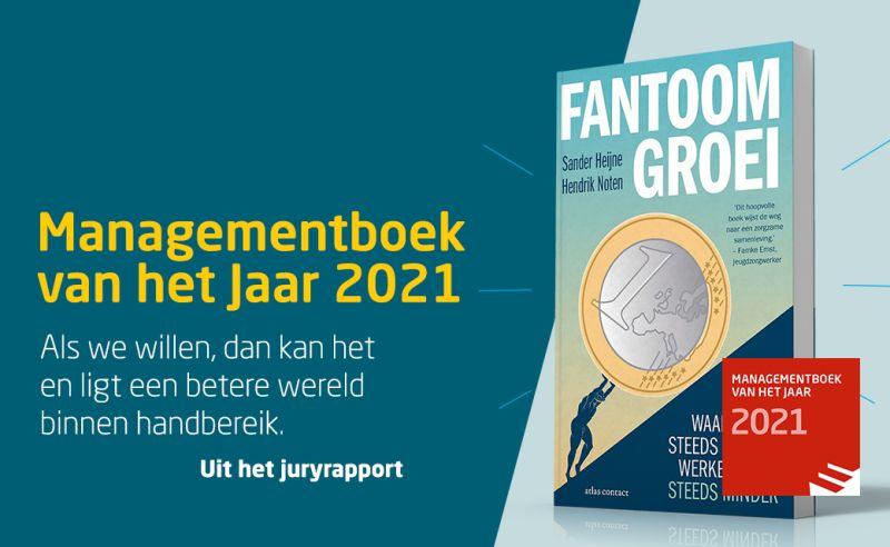 Fantoomgroei Managementboek van het jaar 2021
